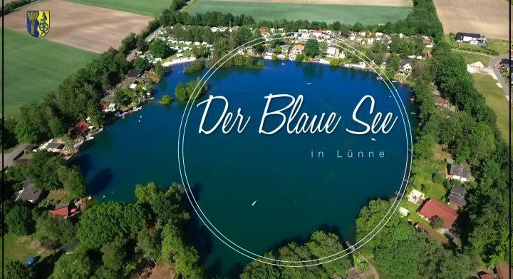 Dokumentation- Erklärfilm Luftaufnahmen, Filmproduktion im Emsland, Entstehung Blauer See in Lünne, Spelle, Geschichte