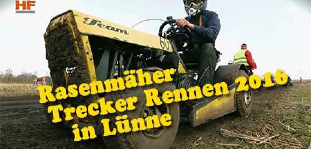 Rasenmaeher-Trecker-Rennen Emsland Spelle Lünne Vorbereitung auf Niedersachsen Meisterschaft