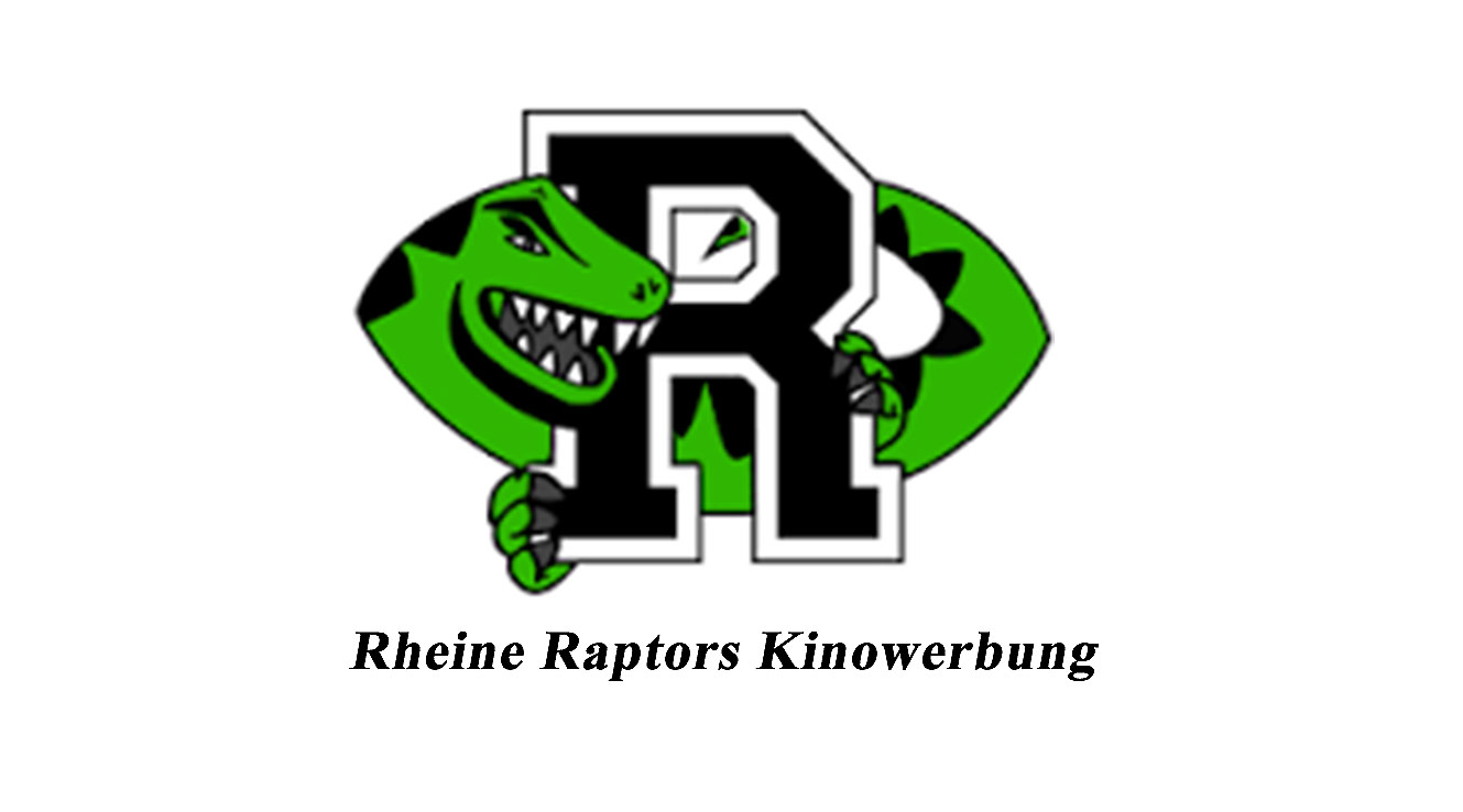 Rheine Raptors Kino Sport Werbung